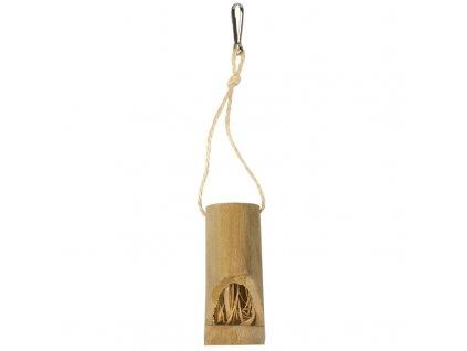 Hračka hlod. bambus krmítko Duvo+ 4,6x25,5cm