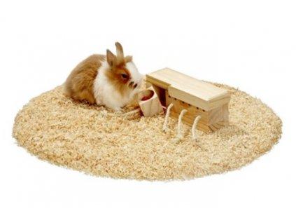 Hračka hlod. dřevo interaktivní šuplíky, Karlie 21,5 x 8,5 x 7,5 cm