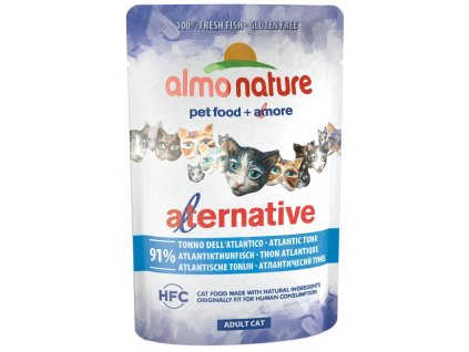 Almo Nature Alternative tuňák 55 g