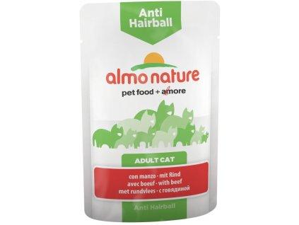 Almo Nature Daily Menu Functional Anti Hairball hovězí 70 g