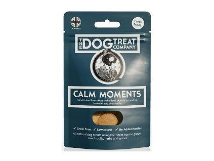 The Dog Treat Company játrové sušenky klidné chvilky 50 g