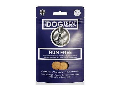 The Dog Treat Company játrové sušenky svobodné běhání 50 g