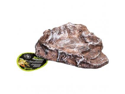 Komodo miska terasovitá S hnědá