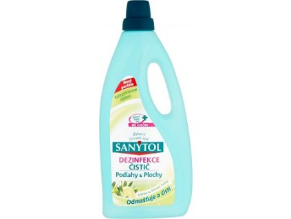 Sanytol dezinfekce univer. čistič citron podlahy 1L