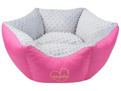 amiplay Pelech Babydoll růžový 68x23 cm