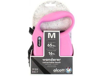 Alcott navíjecí v. Wand(do 29,4kg)růžové M 4,8m