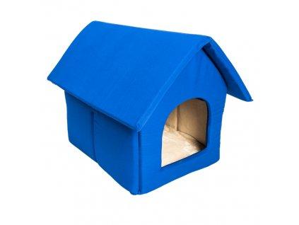 Samohýl Exclusive Orion bouda modrá béžová 40 × 50 cm