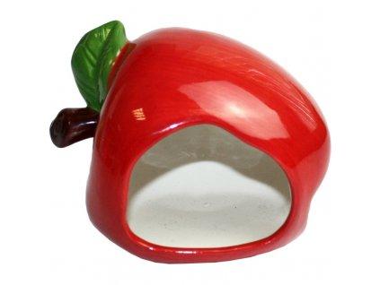 Keramický domek Jablko Critter´s Choice
