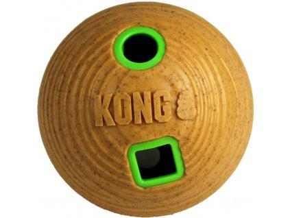 KONG Bamboo Feeder Ball plnitelný míč M