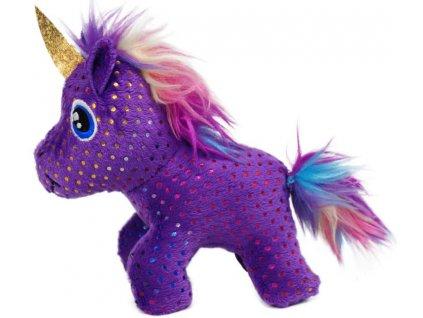 KONG Hračka Enchanted Buzzy Unicorn
