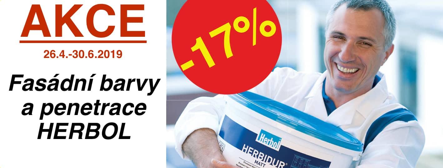 Akce fasáda Herbol -17%