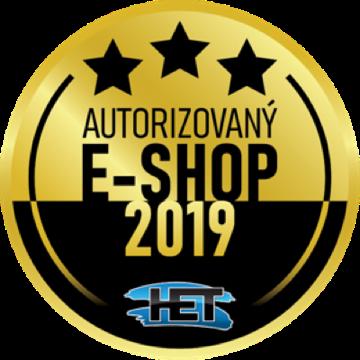 Certifikovaný E-shop HET - zlatý partner