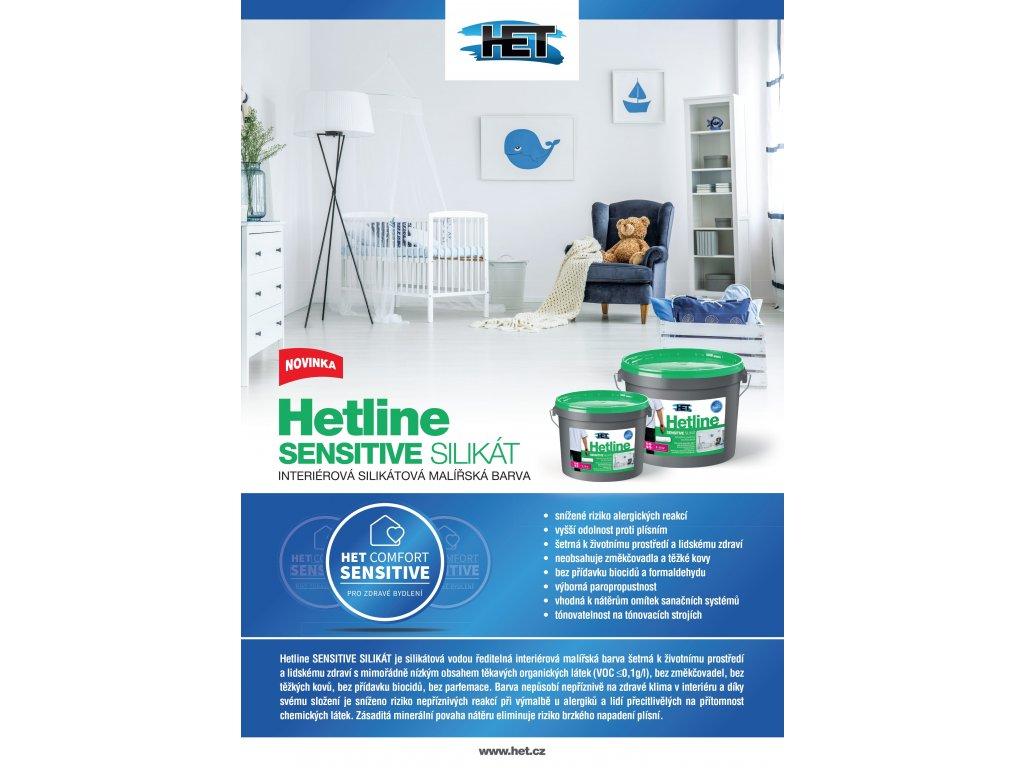 Hetline Sensitive Silikat 5kg