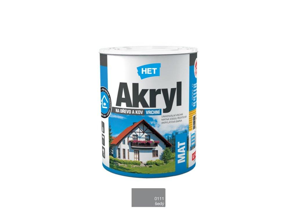Het Akryl MAT 0111