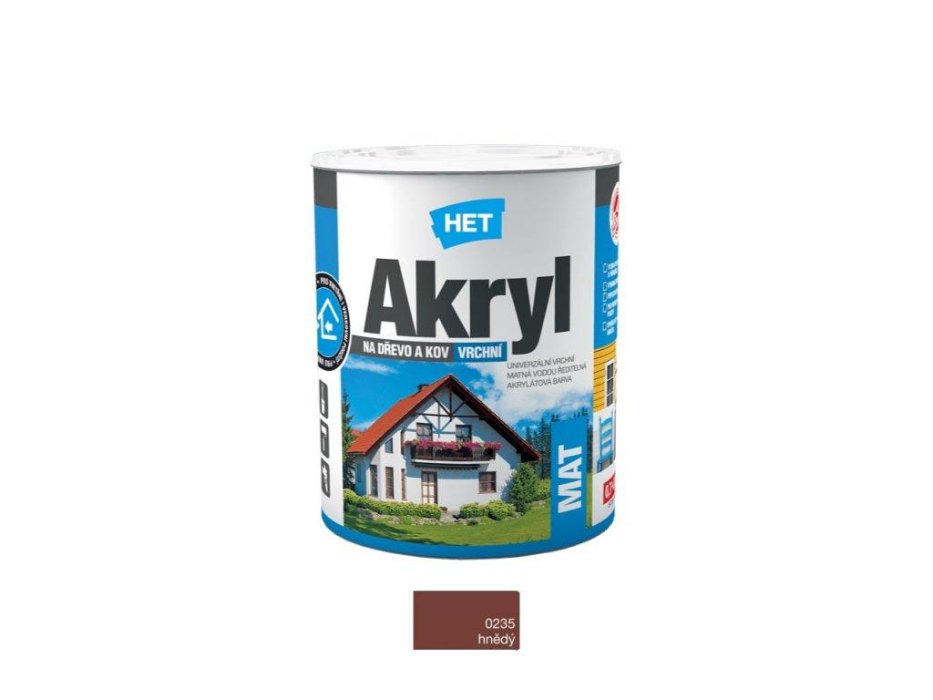 Het Akryl MAT 0235