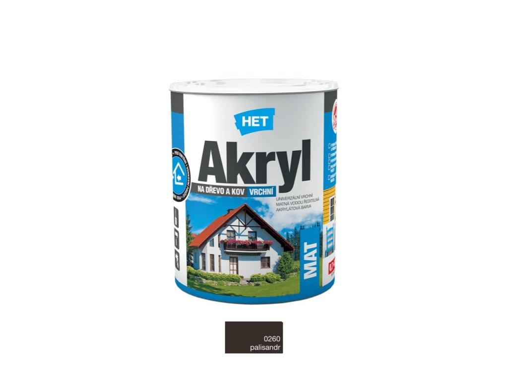 Het Akryl MAT 0260