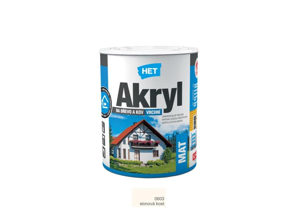 Het Akryl MAT 0603