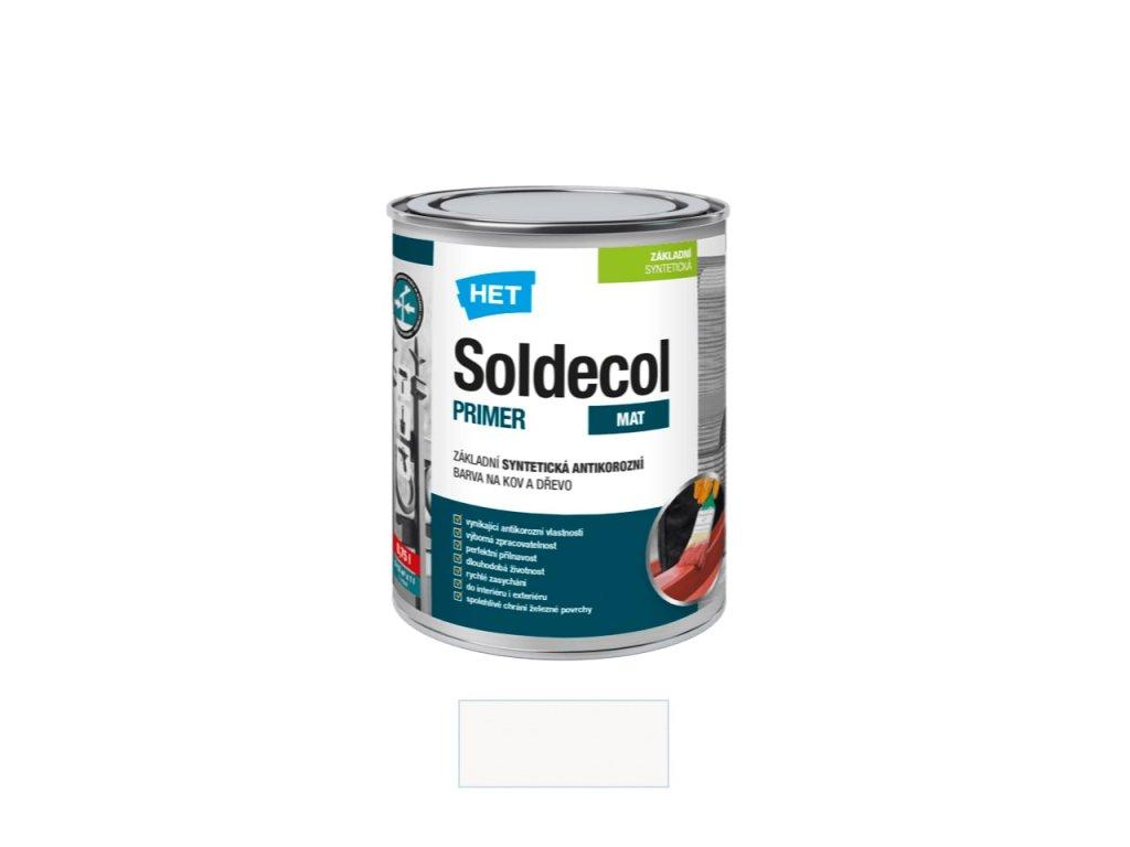 Het Soldecol primer 0100 bílý 0,75 l