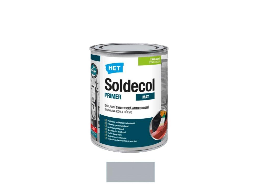 Het Soldecol primer 0110 šedý 0,75 l