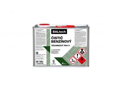 Benzínový čistič technický P6411