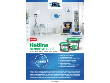 Hetline Sensitive Silikat 5kg