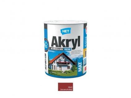 Het Akryl MAT 0845