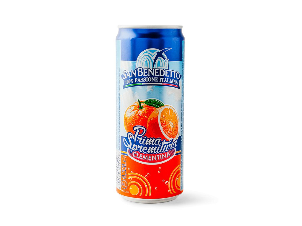sanbenedetto primaclementinecans330ml main image