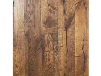 Dubová třívrsvá podlaha DUB RUSTIKAL