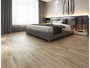 Vinylová zámková podlaha v interiéru
