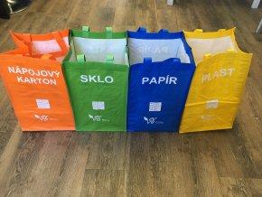 Tašky na třídění odpadu