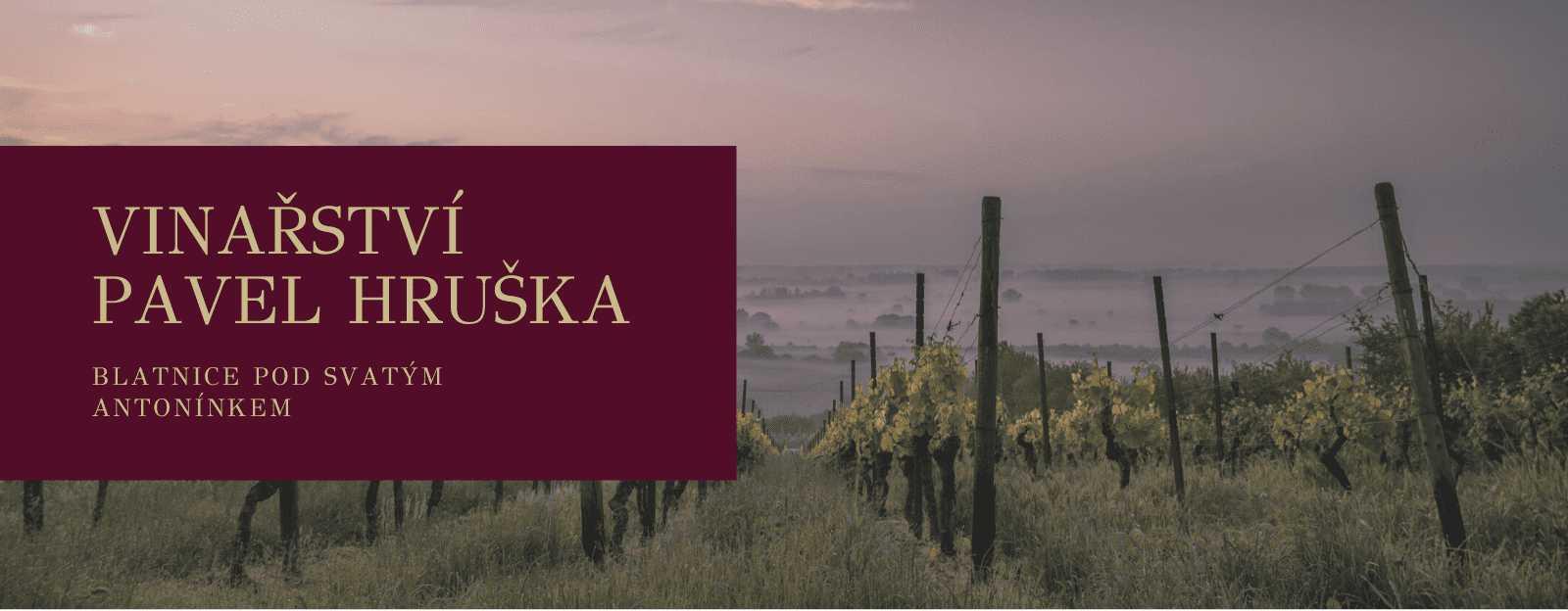Vinařství Pavel Hruška, Blatnice pod Sv.Antonínkem