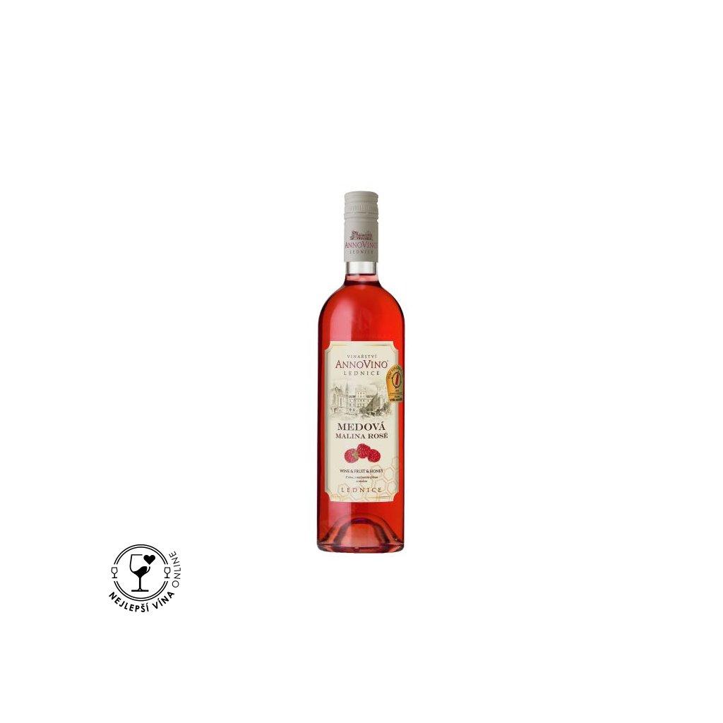 medova malina vinny napoj chateau lednice 0 75 l