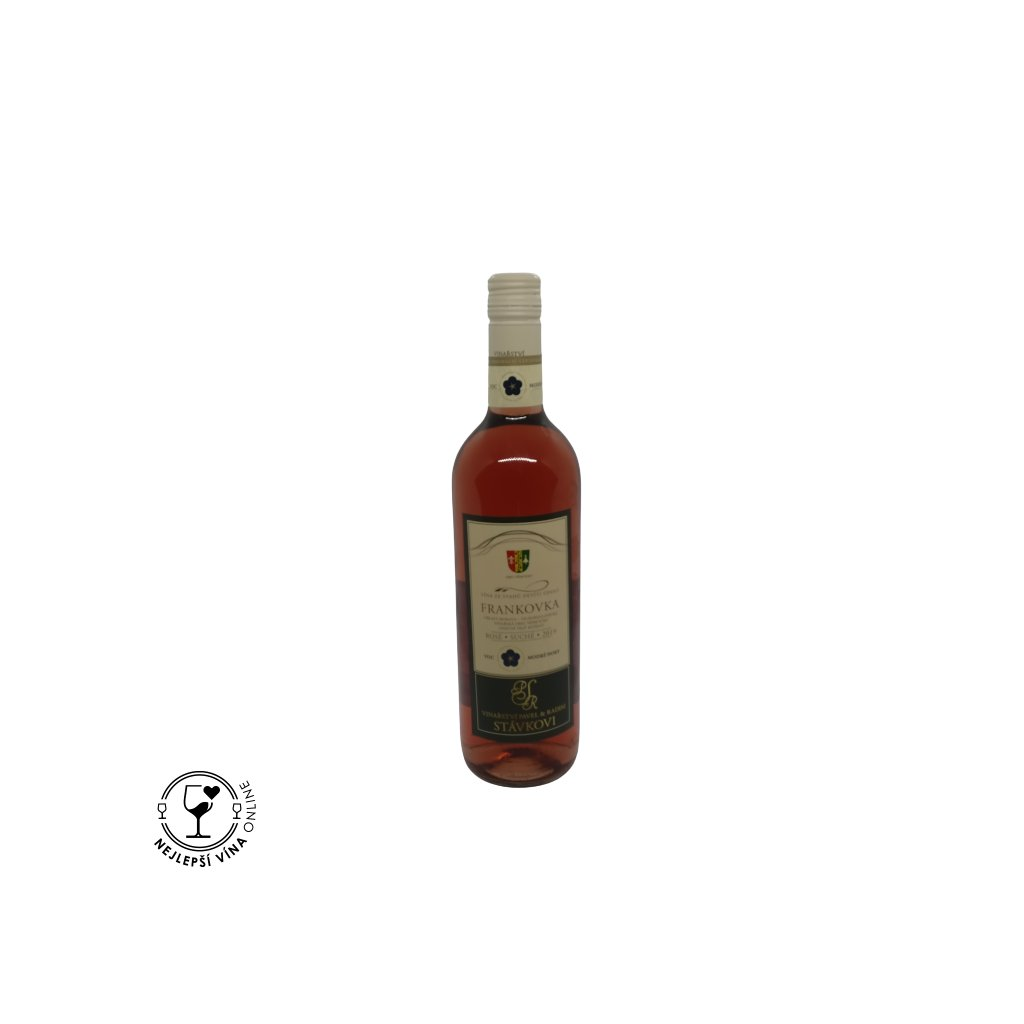 Frankovka, VOC, rosé, 2019, suché, 0,75l