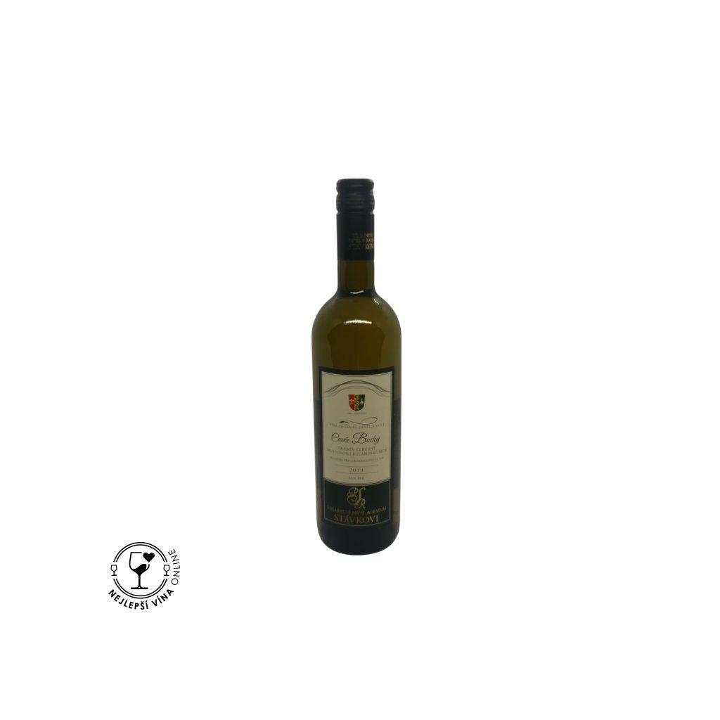 Cuvée Bočky, moravské zemské víno, 2019, suché, 0,75l