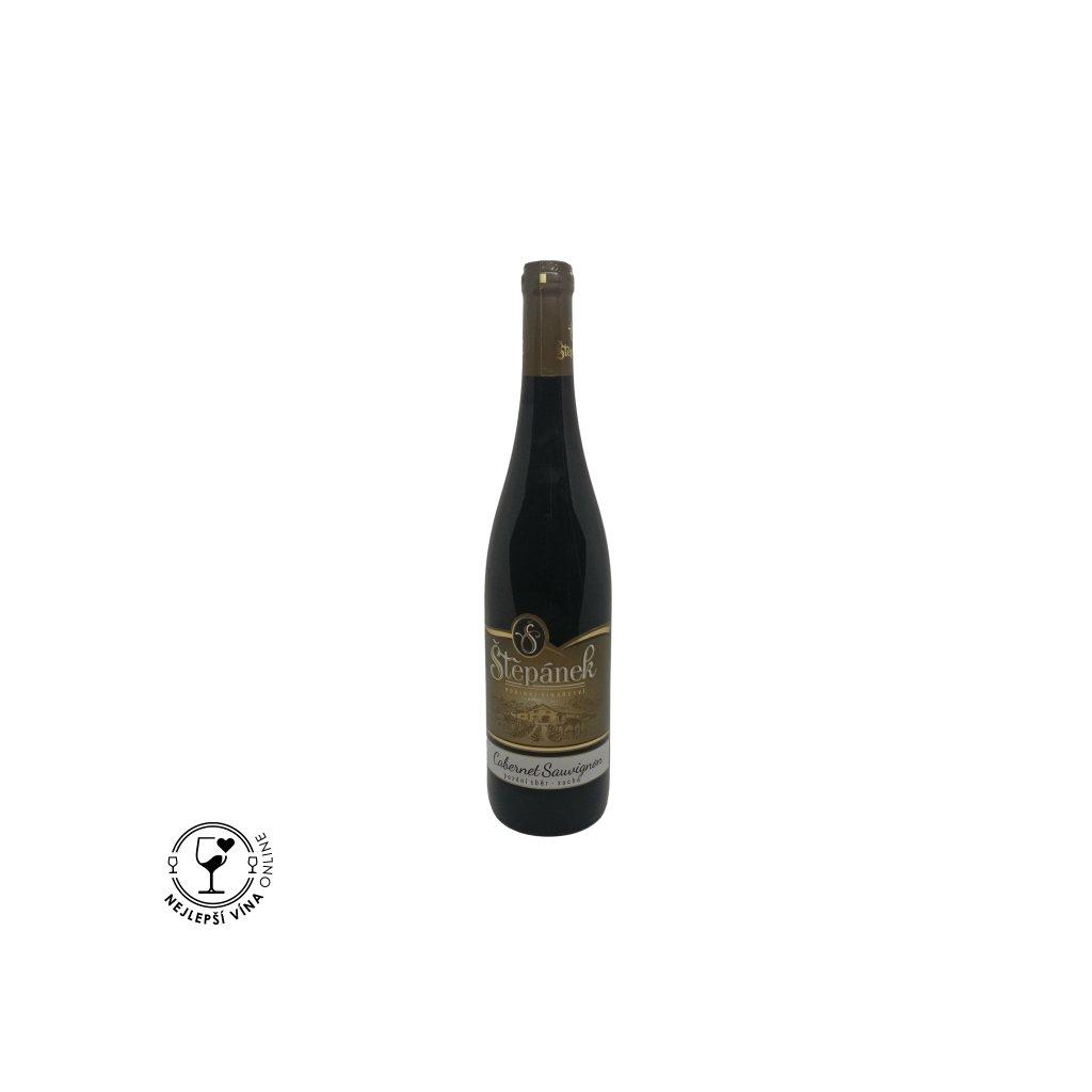 Cabernet Sauvignon, pozdní sběr, 2019, suché, 0,75l