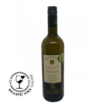 Sauvignon, pozdní sběr, 2019, suché, 0,75l