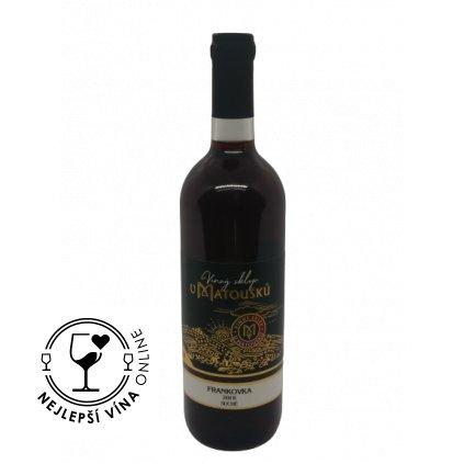 Frankovka, jakostní víno, 2018, suché, 0,75l