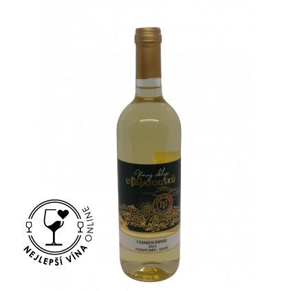 Chardonnay, pozdní sběr, 2019, suché, 0,75l