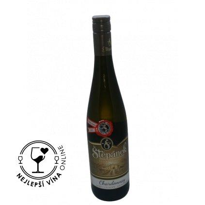 Chardonnay, výběr z hroznů, 2019, polosladké, 0,75l