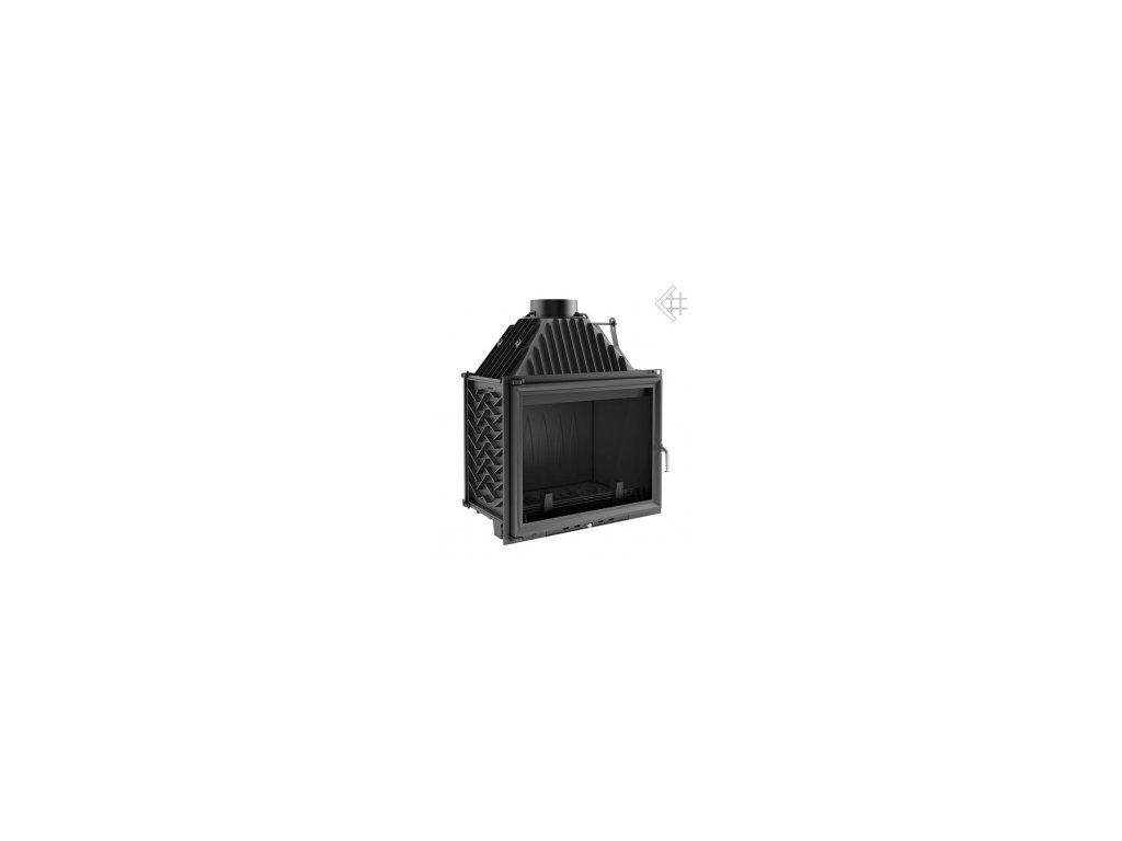 Litinová vložka Kratki AMELIE 25 kW - černá
