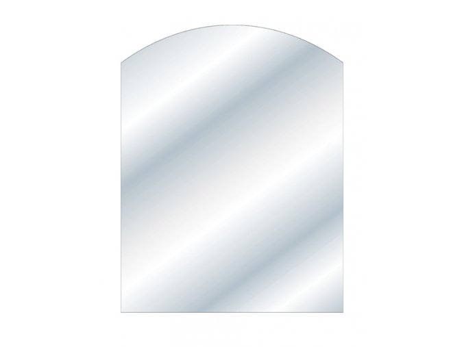 sklo pod kamna 850/1100/8 mm