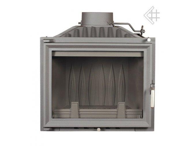 Litinová vložka Kratki ANTONÍN 10 kW - černá