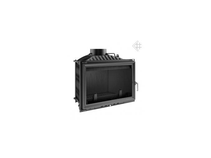 Litinová vložka Kratki WIKTOR 14 kW - černá