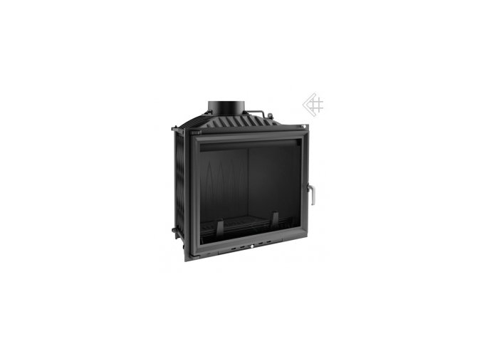 Litinová vložka Kratki FELIX 16 kW - černá