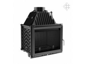 Litinová vložka Kratki ZUZANA 16 kW - černá