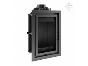 Litinová vložka Kratki MAJA WIEZA - 15 kW - černá