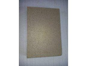 vermikulitová deska dvířek kotle Prity