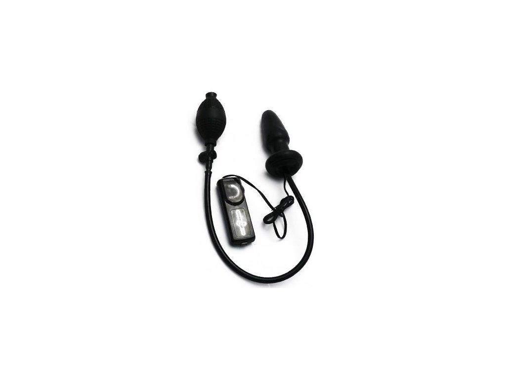 Vibrační nafukovací kolík černý