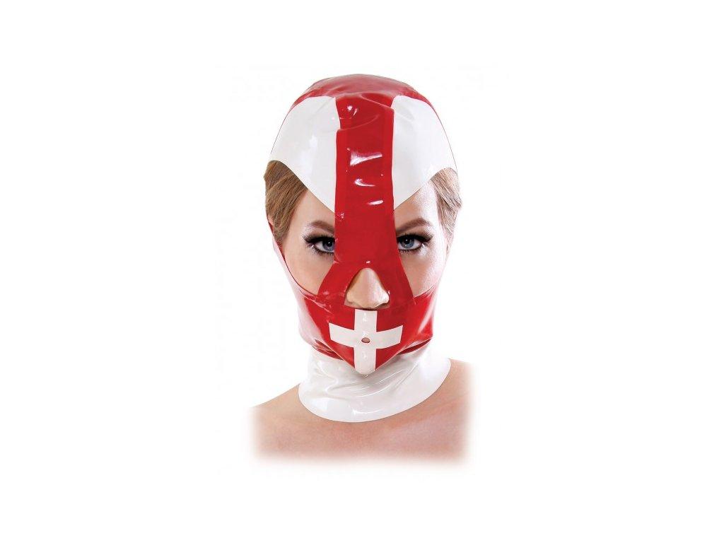 Latexová maska zdravotní sestry