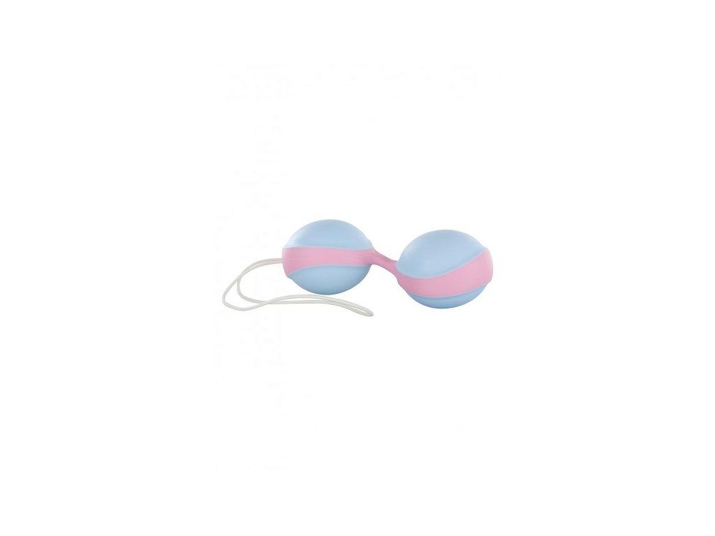 Venušiny kuličky modro-růžové